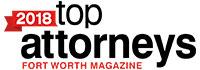 2018 top attorneys fort worth magazine